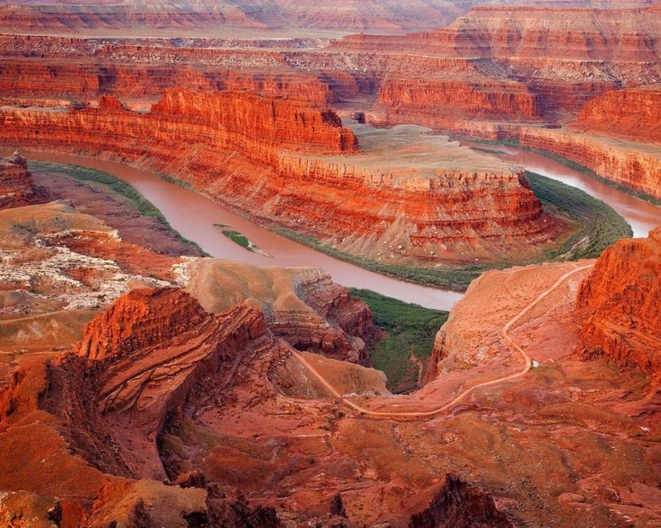 Grand Canyon: satellite image  http://visions-of-earth.com/2012/04/28/satellite-image-of-grand-canyon-national-park-skywalk-in-arizona/