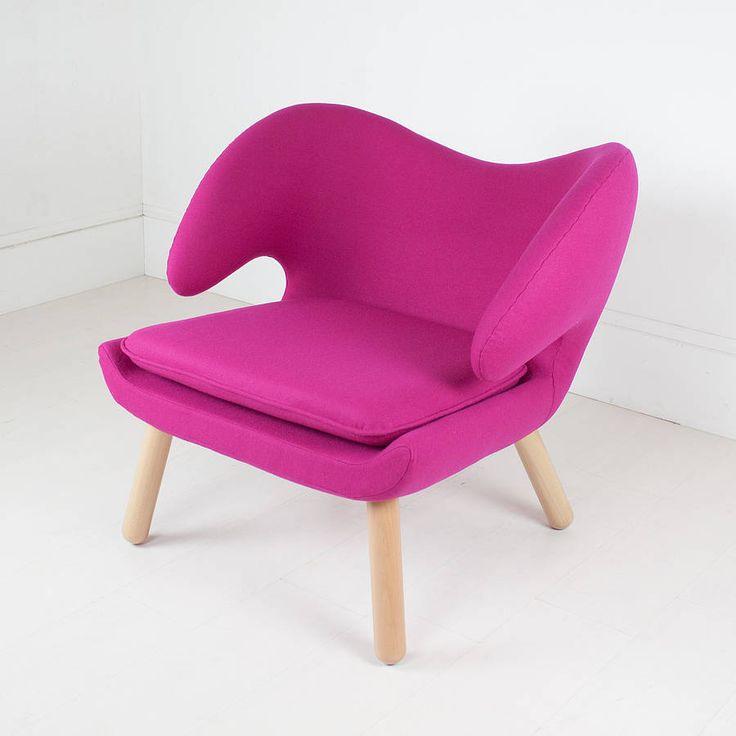 Finn Juhl Style Pelican Chair
