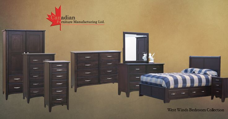 West Winds Bedroom Set Call 1-604-855-0369 For More Info