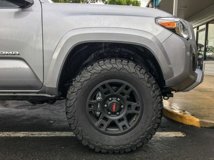 Stock suspension with 275/70/17
