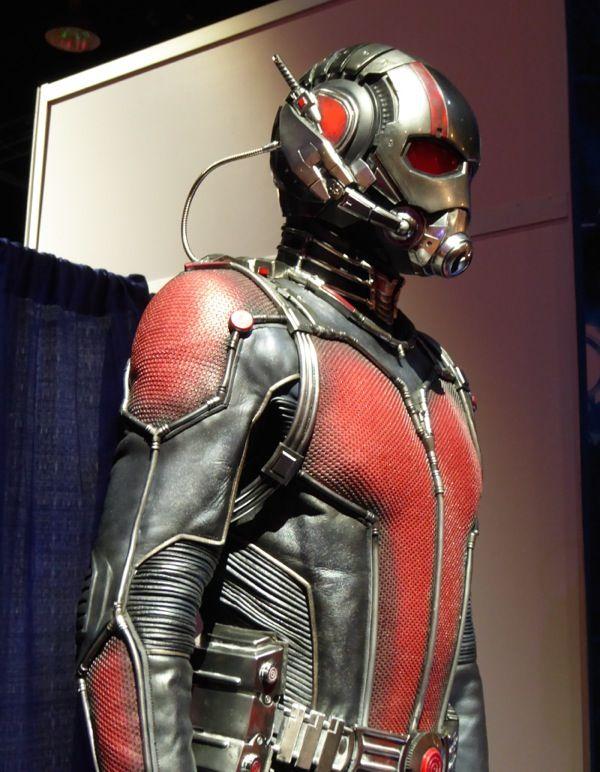 Ant-Man film costume detail