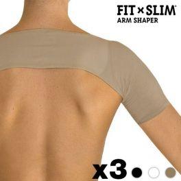 Vêtement Minceur pour les Bras Fit X Slim, découvrez un gaine minceur au meilleur prix, la Fit X Slim est légère et confortable, une gaine minceur spéciale épaules et bras.