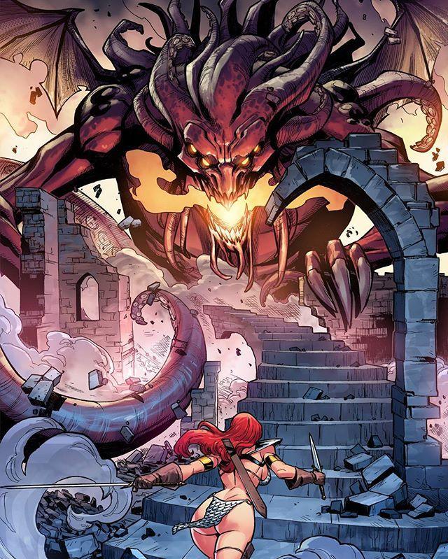 Red Sonja by Carlos Gomez