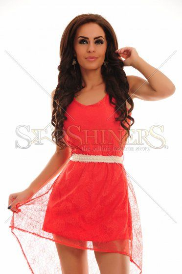 Rochie PrettyGirl Hypnosis Red