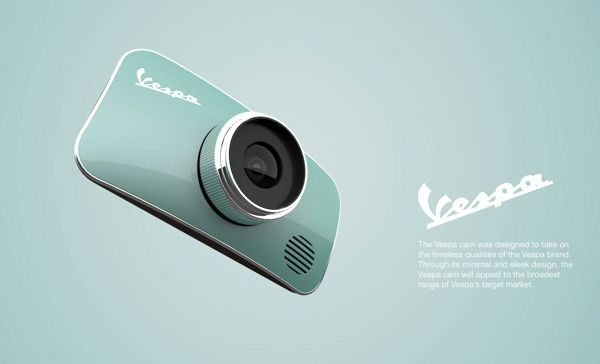 Vespa Camera Concept by Rotimi Solola & Cait Miklasz