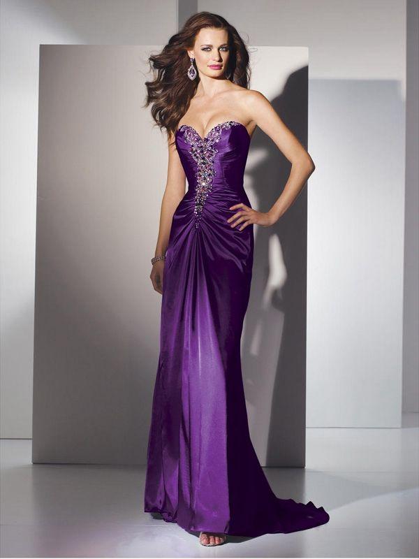 15 best Purple Evening Dreses images on Pinterest | Cute dresses ...