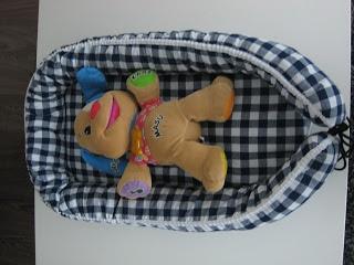 Made by M: Babynest, vauvanpesä