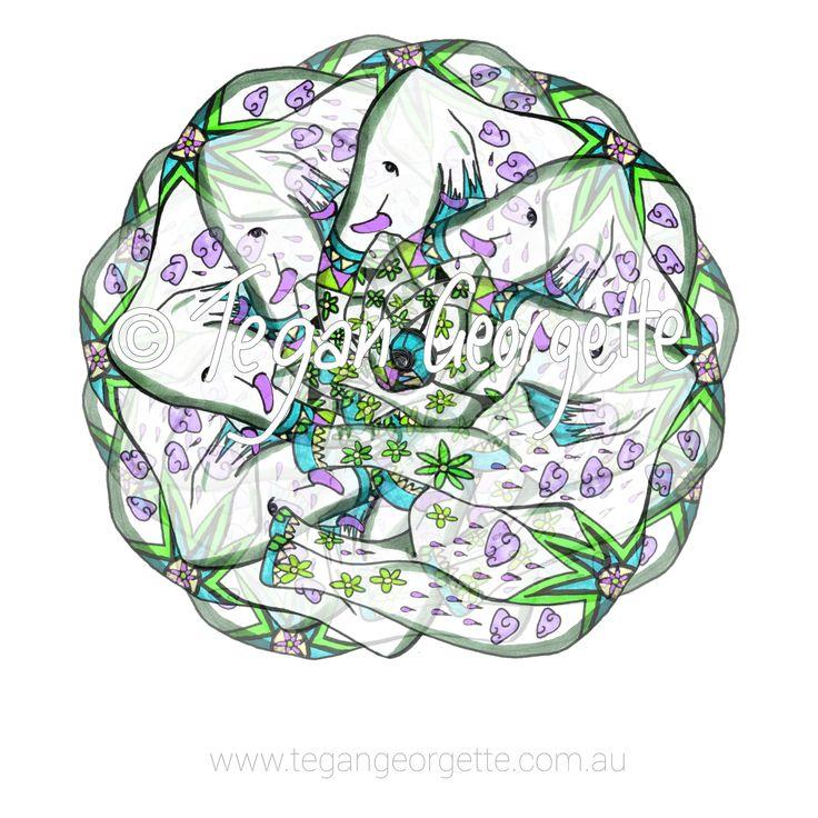 MAGIC MANDALAS by Tegan Georgette