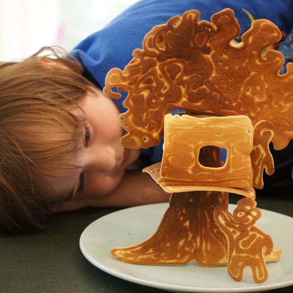 The Pancakes That Are Also a Treehouse