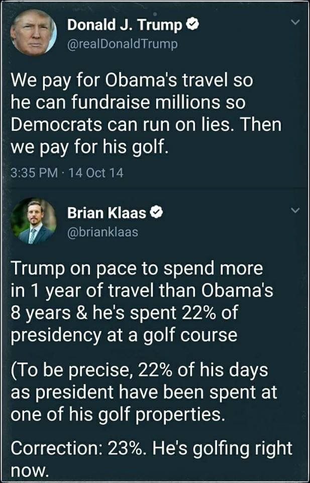 Let's not forget that he gets paid by the Secret Service so they can protect him!