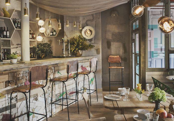 tienda y restaurante con espíritu eco | Tienda online de decoración y muebles personalizados