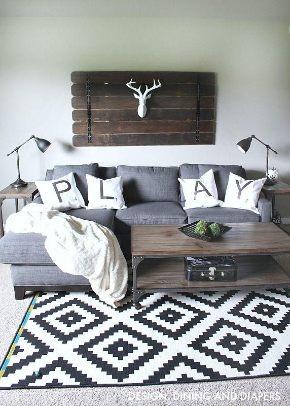 Rustic Modern Bonus Room – Design, Dining Diapers