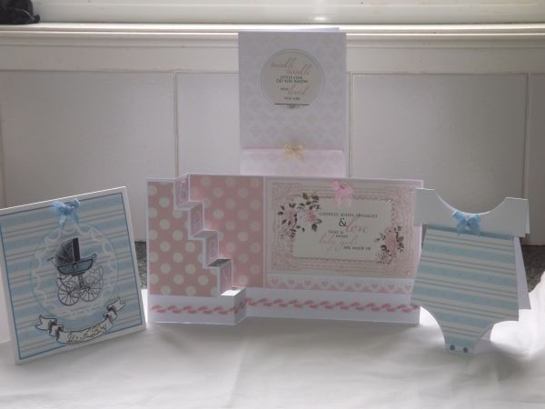Card of the Month-May 2016 - Craft Plus We have used some lovely Kaiser papers for this month's cards. Individual cards can be seen in the Gallery on our web page or on our facebook page.