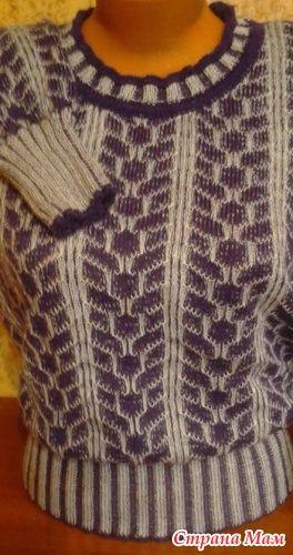 Край для промышленной резинки 3*3 - Машинное вязание - Страна Мам