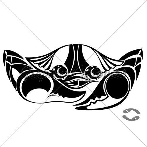 1000+ Ideas About Zodiac Cancer Tattoos On Pinterest