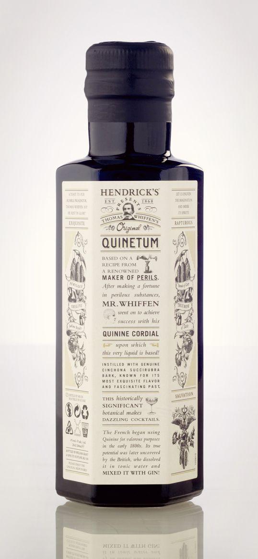 Hendrick's Quinetum Packaging