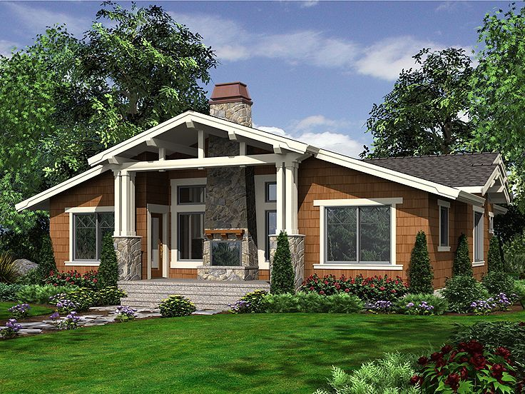 Best House Plansstyles Images On Pinterest Architecture - Craftsman home rehabilitation in houston