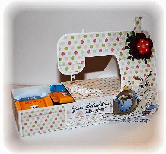 Eine nette Verpackungs Idee für Kleinigkeiten.