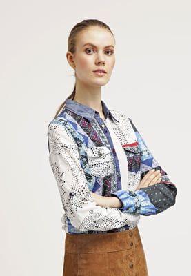 Desigual MARTE - Koszula - light gray za 359,1 zł (13.05.16) zamów bezpłatnie na Zalando.pl.