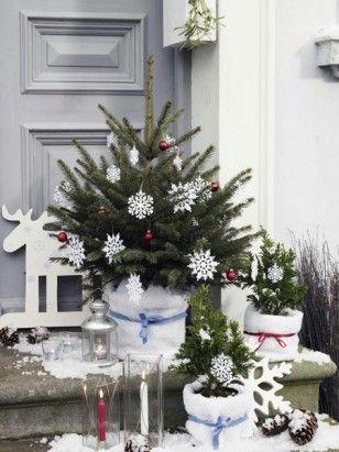 """Über 1.000 ideen zu """"weihnachtsdeko aussen auf pinterest ..."""