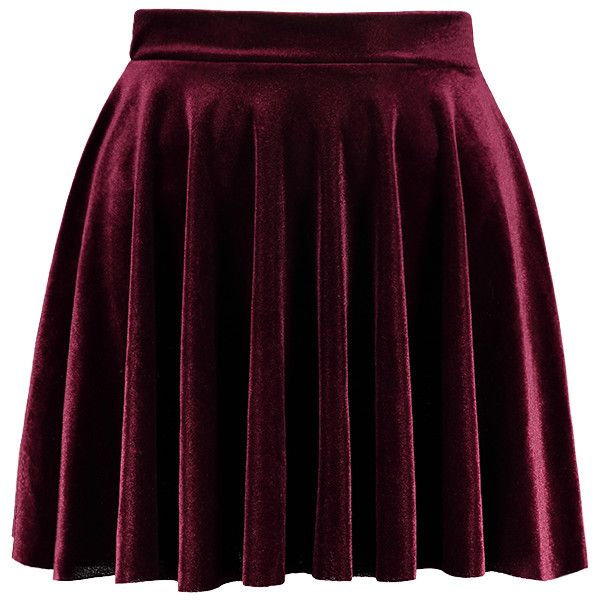 17 best ideas about velvet skirt on green