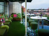 Just as Babylon's hanging gardens were one of the seven wonders of the ancient world, Kensington's rooftop gardens are among London's most glo