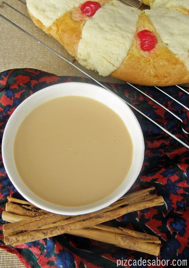 Atole  is a traditional hot corn based beverage of Mexican and Central American origin. Some people enjoy putting chocolate in it.