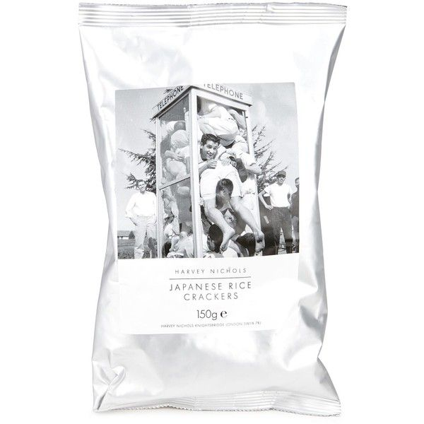Harvey Nichols Japanese Rice Crackers 150g (£3.95) ❤ liked on Polyvore featuring home, home decor, holiday decorations and japanese home decor