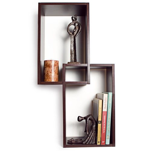 Found it at AllModern - Mount Intersecting Wall Shelf