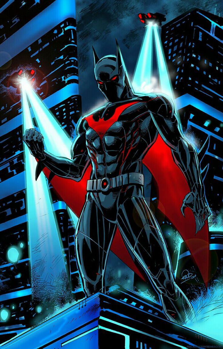 Batman Beyond Art by Eric Ninaltowski