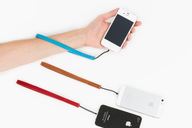 The iPhone Wrist Strap ($35): A stylish wrist strap for your iPhone that leaves you poised for a quick snapshot. It'll also take the worry out of dropping your phone and long lines at the Genius Bar.