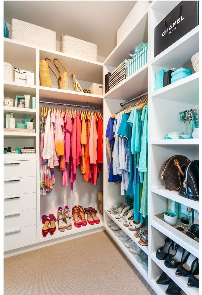 Walk In Closets #homestyle #closets