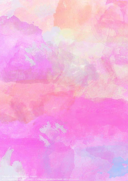 アート系迷彩柄の水彩画模様の綺麗なイラスト壁紙背景