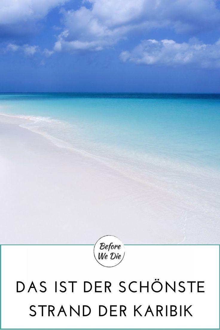 Eagle Beach Aruba Traumstrand in der Karibik ABC-Inseln