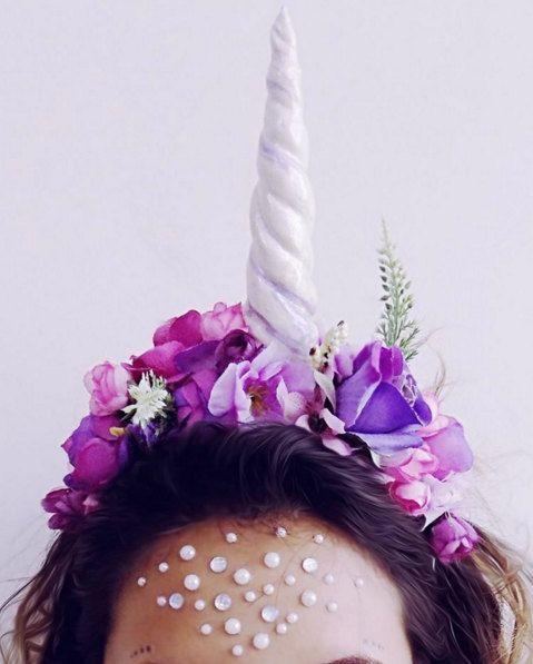 Ponle imaginación y podrás ser hasta una princesa de cuento, una reina, un ángel, y ¡hasta un unicornio! #carnival #costume #party
