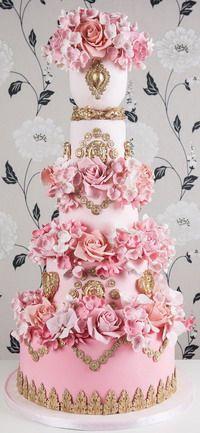 Многоярусные_Свадебные_торты Multi-tiered_Wedding_Cakes - Мастер-классы по украшению тортов Cake Decorating Tutorials (How To's) Tortas Paso a Paso