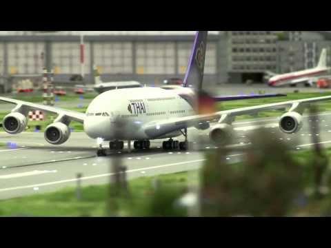 AMAZING MODELS: Worlds Biggest Miniature Airport   Knuffingen Flughafen