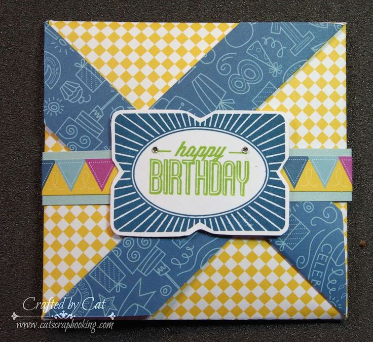 Pinwheel Card ~Framed ~ August SOTM ~ catscrapbooking.com