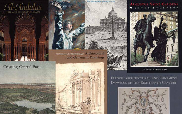 7 livros de história da arquitetura para download gratis na página do Met Museum