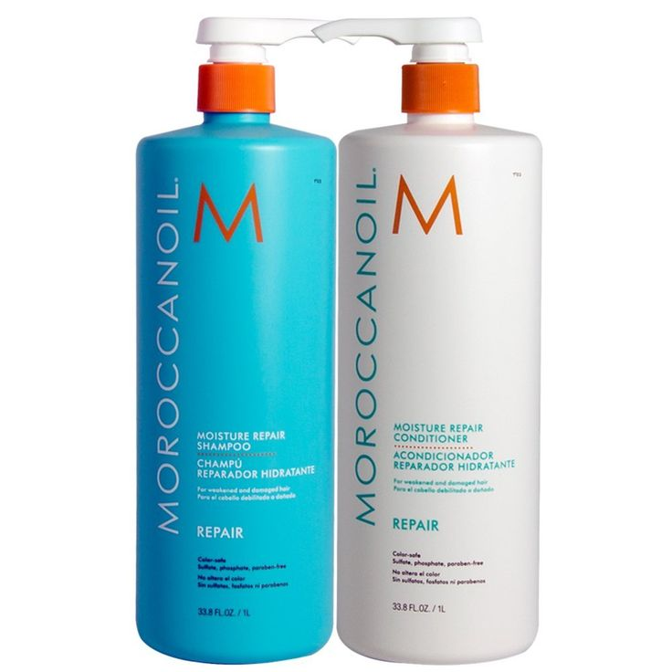 Moroccanoil Moisture Repair Shampoo & Conditioner Combo Set (33.5 oz size) Great moisturizing shampoo and conditioner  Read more http://cosmeticcastle.net/hair-care/beauty-cosmetic-43  Visit http://cosmeticcastle.net to read cosmetic reviews
