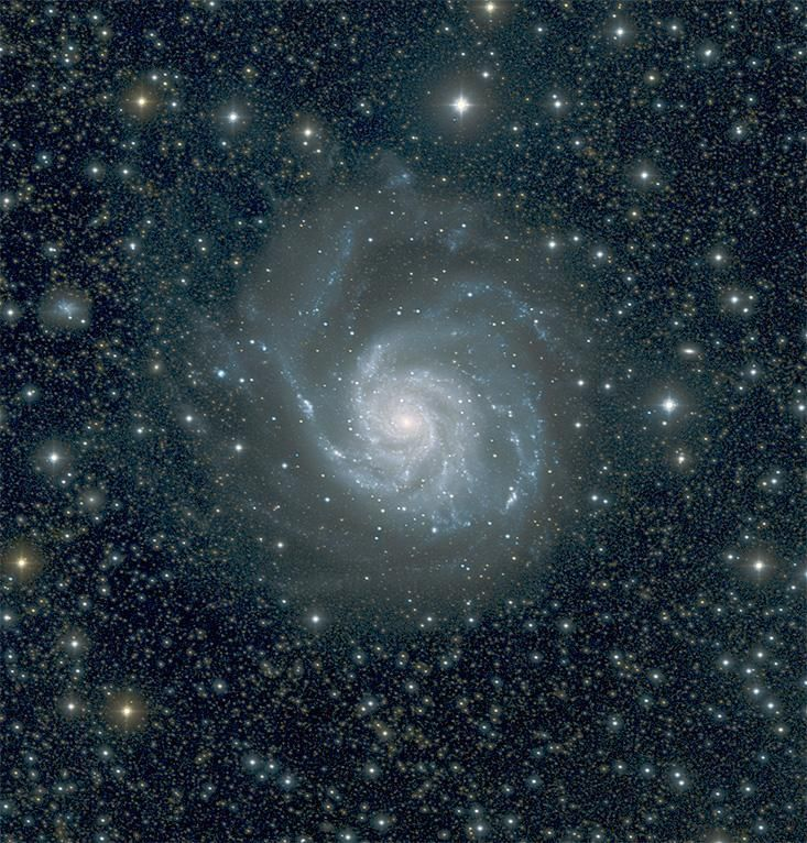 """""""Pinwheel Galaxy (M101)You can view what the Hubble Space Telescope is seeing now at spacetelescopelive.org ! """""""