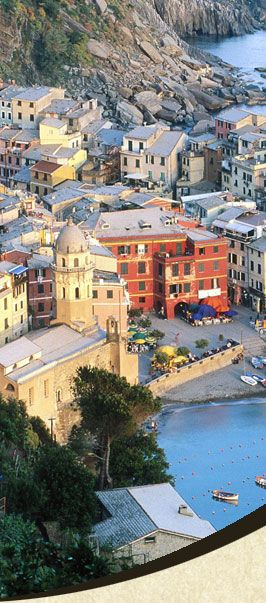 Vernazza. Cinque Terre, ITALY.