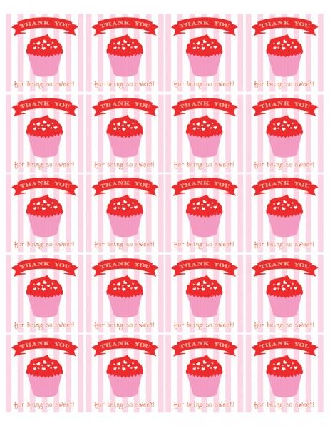free valentines day party printables favor tags