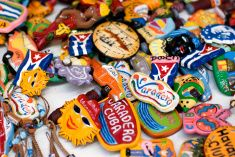 Souvenirs from Cuba stock photo