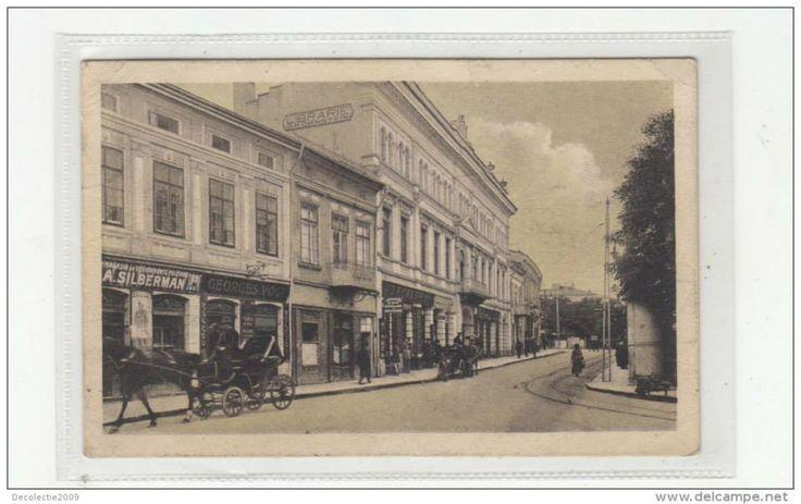 "Libraria ""Moldova"" a lui D. Ornstein pe Strada Lapusneanu, Iasi, Romania"