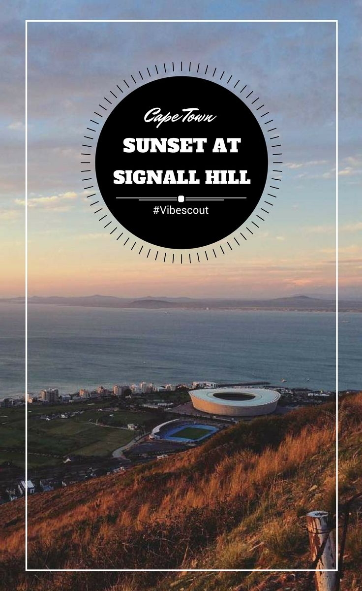 """You should watch a sunset at least once a day."" #sunset#signallhillsunset#Capetownsunset"