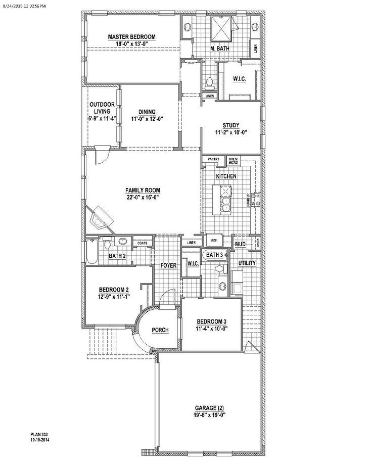 Plan 303 in  | American Legend Homes