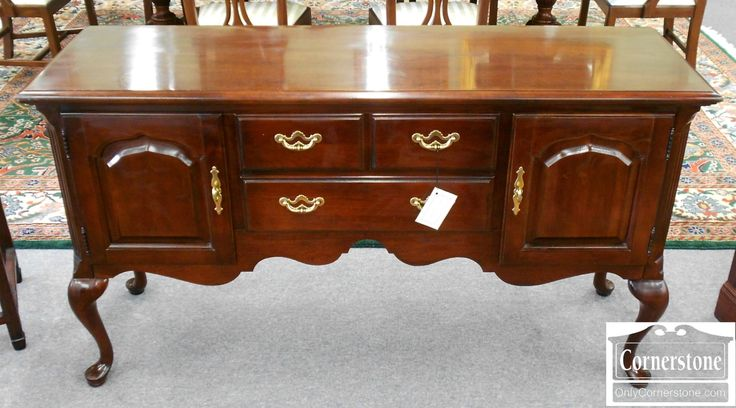 5208 620 Thomasville Cherry Queen Anne Sideboard