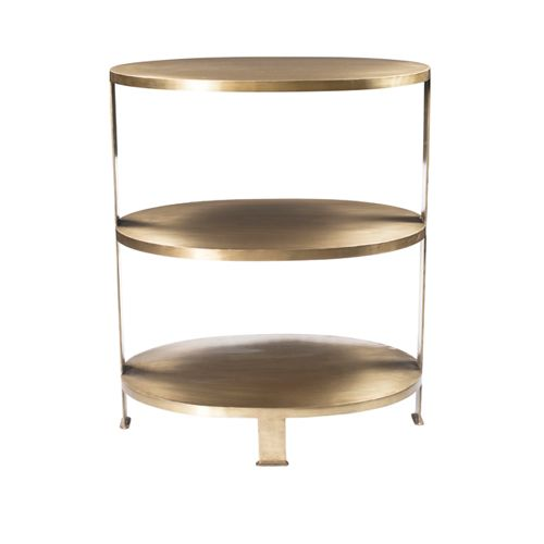 Etagere Devon in Brass