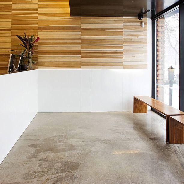 les 25 meilleures id es concernant plancher beton sur pinterest beton cir sol beton et. Black Bedroom Furniture Sets. Home Design Ideas